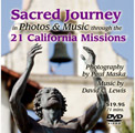 California Missions Tour in Photos and Music (DVD)