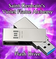 Saint Germain's Violet Flame Alchemy - USB Thumb Drive
