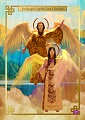 Archangels Jophiel and Christine 5x7