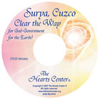 CD Cover for Surya, Cuzco Clear the Way