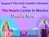 Donations for 2017 Winter: The Holy Family Blesses Mexico