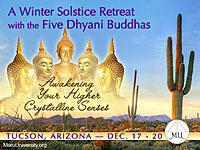 Onsite Attendance - 2015 Winter MU Event, The Five Dhyani Buddhas