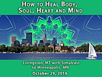 Onsite Attendance - How to Heal Body Soul Heart Mind