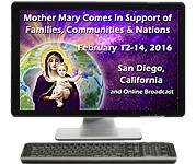 Internet Broadcast - San Diego Valentine's Weekend Prayer Vigil 2016