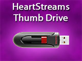 HeartStreams USB Thumb Drive