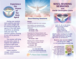 Soul-Raising Sessions Brochures - pack of 50