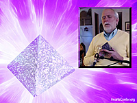 Video - Omri Tas Blesses Orgonite Pyramids