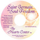 CD Cover for Saint Germain on Soul Freedom