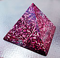 Large Violet Pyramid Orgonite