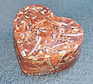 Heart-Shaped Small TB - 6oz Orgonite