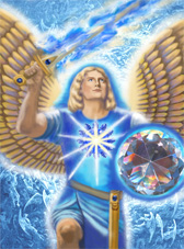 Archangel Michael's Victory Painting