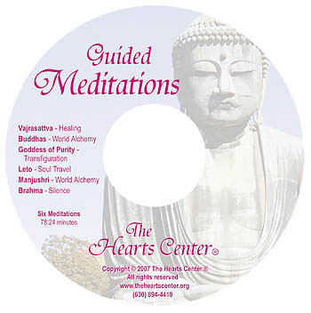 CD Cover for Guided Meditations