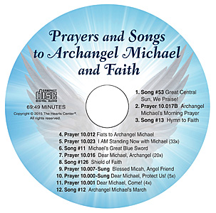 Prayers and Songs to Archangel Michael and Faith CD