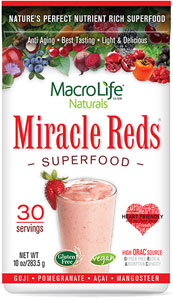 Miracle Reds Super Food Drink 10oz