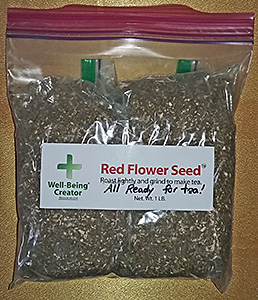 Red Flower Seeds 1lb