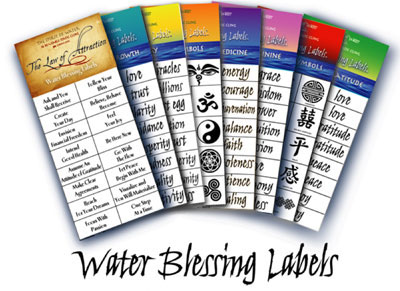 Spirit of Water - Water Blessing Labels